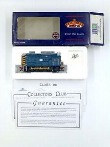 Bachmann 32-102B Class 08 Diesel Shunter Blue Near Mint Boxed Condition