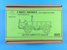 Italian Car Truck Autocarretta OM 35 mod.35 1/35 Resin CRIEL Cri.el Crielmodel