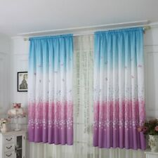 Butterfly Curtain Tulle Window Treatment Voile Drape Valance 1 Panel Fabric USA