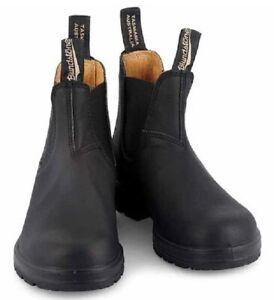 Blundstone 558 Chelsea Boots Leder Stiefel Serie 550 - Voltan Black +Schuhlöffel