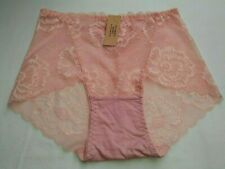 DressNStyle NWT VICTORIA'S SECRET Lace Lacey SEXY Peach Panty Underwear Large