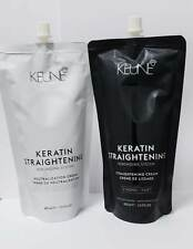 Keune Keratin Straightening Cream Rebonding System + Neutraliser *STRONG* 400ml