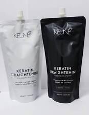Keune Keratin Straightening Cream Rebonding System + Neutraliser *STRONG* 400ml