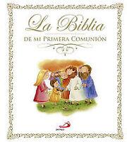 La Biblia de mi primera comunión. NUEVO. Nacional URGENTE/Internac. económico. L