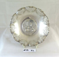 Plate Centerpieces Trays Vintage Beginning Twentieth Century Metal silver R4
