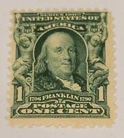 Scott#: 300 - Benjamin Franklin Mint OG NH  - Lot 1