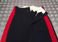 "Genuine British Army No1 RHQ A/O Ranks Dress Trouser 2"" Red Stripe TRHQ01"
