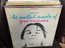Gene Ammons The Soulful Moods of.. vinyl LP 1962 VG+ Moodsville Stereo