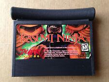 Kasumi Ninja (Atari Jaguar, 1994) Game Cartridge Only