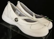 Crocs NEW Juniper Croslite White Slip-On Walking Flats Mary Janes Women's US 7