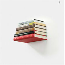 1 Pcs Wall Home Decor Design Student Creative Hidden Invisible Book Shelf JL