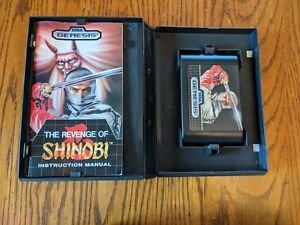 Revenge of Shinobi (Genesis, 1989) Authentic, Complete, Tested works original