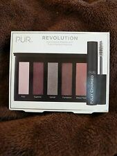 Pur Revolution eye shadow palette with fully charged mascara $75 value - new