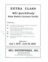 MFJ-3215 Amateur Extra Class Quick Study Guide