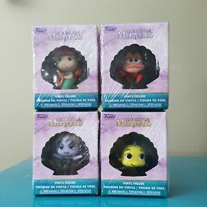 Disney The Little Mermaid Funko Mystery Minis Vinyl Figure Lot Of 4