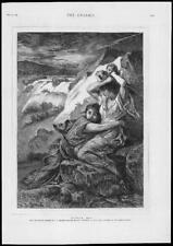 1879-Antiguo Arte Fino Impreso Murcia 1879 Portaels personas que sufren inundaciones España (257)