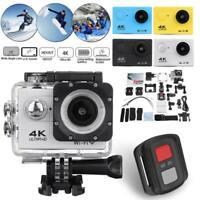Ultra 4K action camera 30fps WiFi 2.0 170D Underwater Waterproof