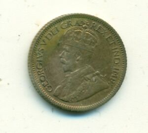 Canada 10 cents 1933 VF+