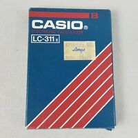 Casio LC-311 E Vintage Calculator 6.5x11cm Made in Japan New Old Stock