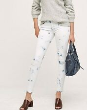 Anthropologie McGuire Bleached Newton Skinny Jeans Sz 28 Tie Dye $238