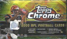 2000 Topps Chrome Factory Sealed Football Hobby Box Brian Urlacher RC ROOKIE ???