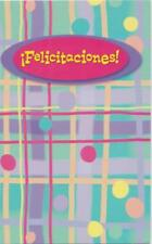 Spanish Greeting card, Congratulations!