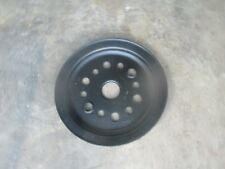 Chevrolet 283 327 350 Single Groove Crank Pulley 3755820