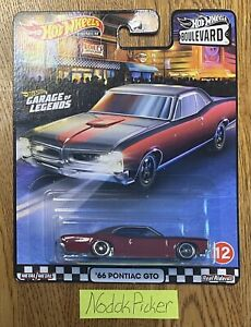 2020 Hot Wheels Premium Boulevard #12 '66 Pontiac GTO Garage of Legends