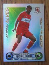 Match Attax 2008/09 MOTM card - Afonso Alves of Middlesbrough