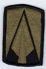 ARMY PATCH - 177th ARMORED BRIGADE SUBDUED COLOR 1983 ISSUE