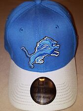 NEW ERA 39 FIFTY NFL DETROIT LIONS BLUE GREY LARGE/ XLARGE NEW WITH TAGS