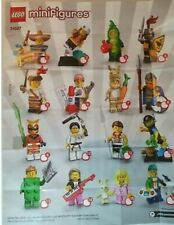 Lego minifigures series 20 Full of Set, opened to check figure numbered & sealed