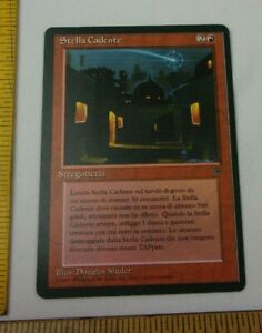 Shooting Falling Star Italian Legends Magic the Gathering MTG NICE! CCG