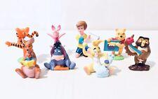 Vintage Disney Winnie The Pooh Figures 1999 Eeyore Owl Piglet Tigger Rabbit