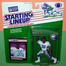 1989 BENNIE BLADES Detroit Lions Rookie #36 sole Starting Lineup helmet inside !