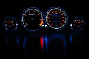 Opel Corsa B/Tigra design 1 glow gauge plasma dials tachoscheibe glow shift indi