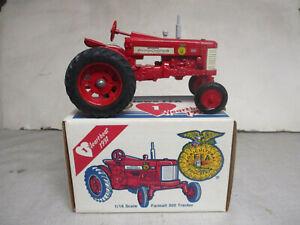 """IH Farmall Model 350 Toy Tractor """"1991 Iowa FFA Edition"""" 1/16 Scale, NIB"""