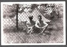 Vintage Photograph 1920-30S Boys Fashion Fox Rat Terrier Dog Puppy Pup Old Photo