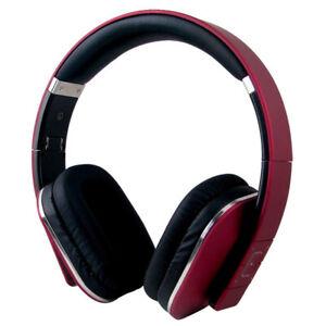 August EP650R Bluetooth NFC Kopfhörer Lederpolster Freisprechfunktion Headset