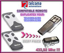 Tecloma Tango 2 SLIM, Tango 4 SLIM Compatibile Telecomando, Clone 433,92Mhz