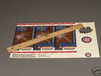 2003 World Series Tickets  for the Chicago CUBS -Three Games Full Tickets