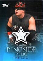 WWE The Miz 2009 Topps Ringside Relic Event Worn Shirt Card 2 Color
