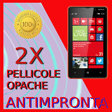 2 Pellicola Per NOKIA LUMIA 820 Opaca Proteggi Display Schermo LCD Pellicole