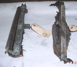 BENTLEY/ROLLS ROYCE 1957 Front Seat Tracks and Levers
