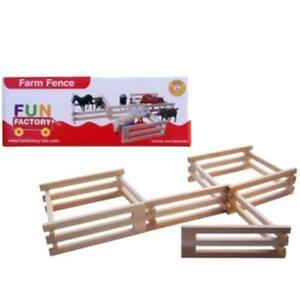Fun Factory Farm Fence Wooden
