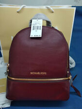 Genuine Michael Kors Rhea Backpack merlot  Medium bag sales