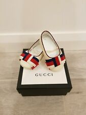 Brand New in Box Gucci Baby Leather Shoes Size 18