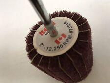 10- Choice of Grade, 2 x 2 x 1/4 In. Combo Flap Wheel  KEEN-Brite 75019