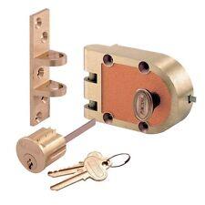 Segal Single Cylinder Deadbolt - Genuine Jimmy Proof Lock - 667