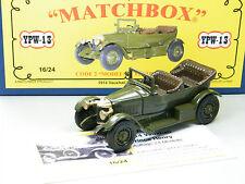 Matchbox MoY Code 2 YPW-13 Prince Henry Vauxhall Militär in blauer Box 1v6
